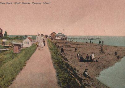 Sea Wall, Shell Beach