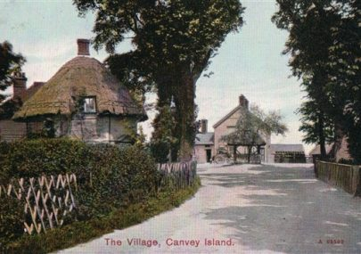 The Village from Haven Road