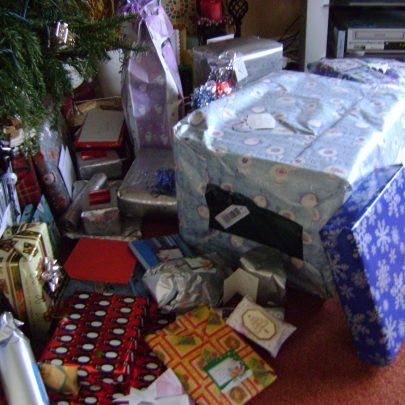 All of our presents!