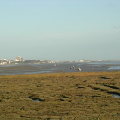 Canvey Heights looking towards Southend | Janet Penn