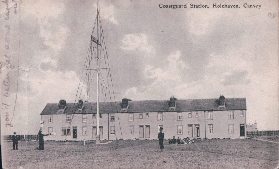 Coastguard Station, Holehaven | Published by kind permission of the late Mr H.A. Osborne and Mr R.W Osborne.