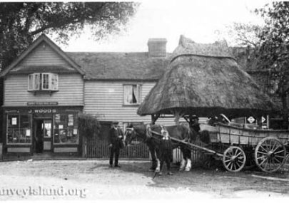 The Woods and Bone families of Canvey Village
