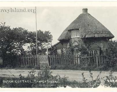 Canvey Island - Dutch Cottage in occupation   Jim Gray