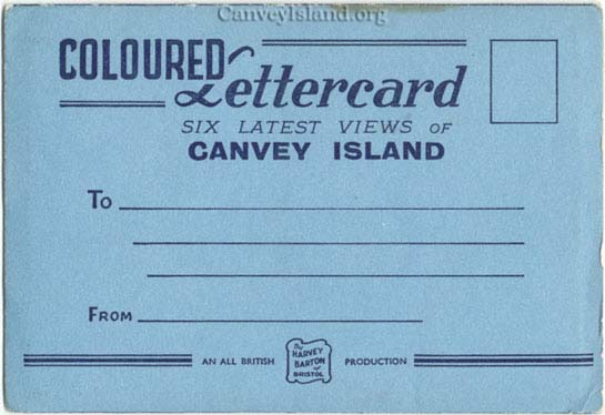 Coloured Lettercard from Canvey Island (pictures featured in Post Cards) | Thanks to Jim Gray