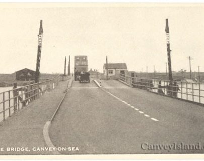 A bus travels on to Canvey Island | Jim Gray