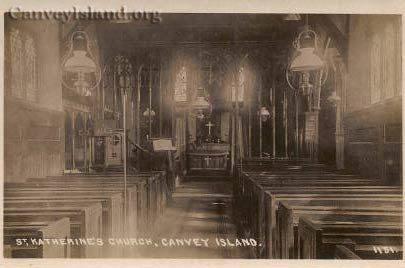 Canvey Island - An inside view of St Katherines Church | David Bullock