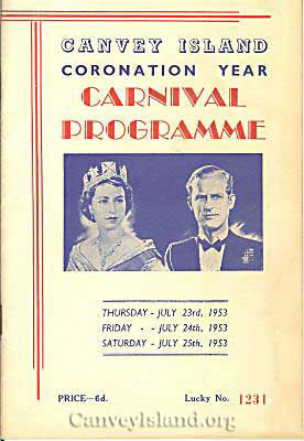 1953 Coronation year and the year of the flood | D Bullock