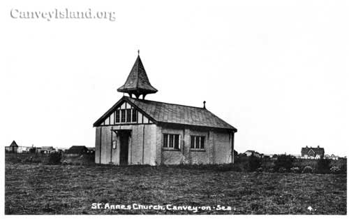 St Annes Church viewed from the West - What is the building in the distance? Cox's? Jellicoe? | David Bullock