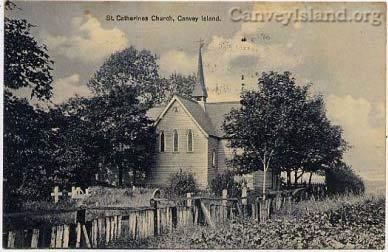 Canvey Island - St Catherines Church (note 'C' not 'K' now) | David Bullock
