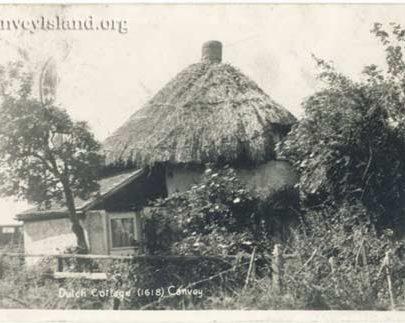 An overgrown Dutch Cottage