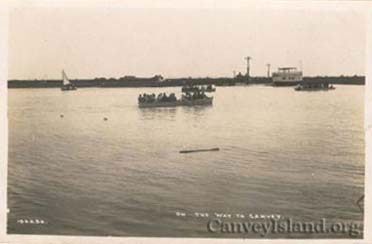 The tide is in - Canvey Island Ferry crossing | David Bullock