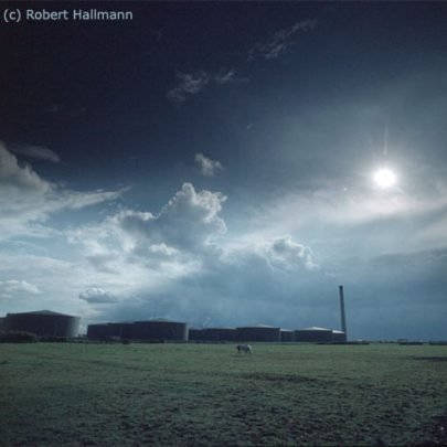 The Oil Refinery, Northwick Road - Since demolished | Robert Hallmann (Slide)