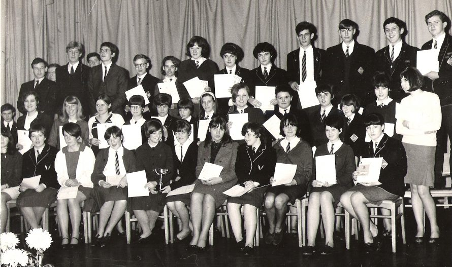Canvey Secondary School (Now Furtherwick Park) awards evening | Kathy Mc