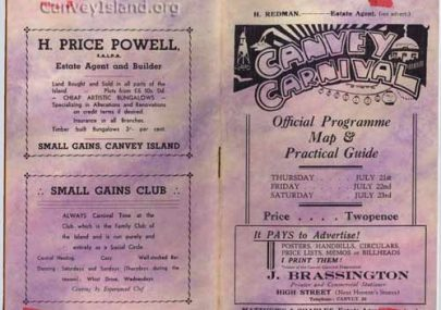 Canvey Carnival Programmes