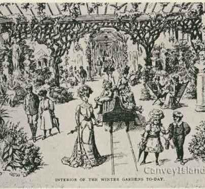 Winter Garden as it was envisaged | Tom Merry