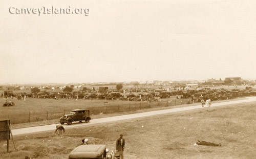 Looking North West from the Casino before the Monico was built | © The Swann Family