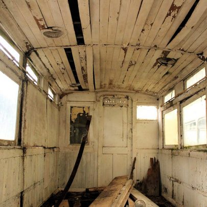 102 year old Canvey Tram Trailer