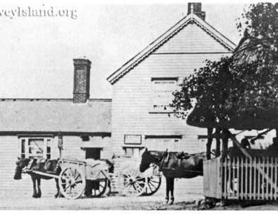 Old Post Card of the Red Cow