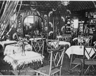 Cox's Oriental Cafe - Look in the mirror! Click next to read the card... | Andrew Jackson