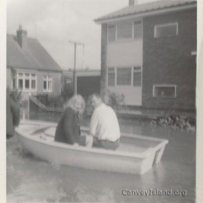 This couple(not known) were on their way to work. Background; Rev. Ormerod's(the curate) house. | T.Stevens