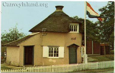Pink Museum with Dutch flag & 1618 logo - Canvey Island | David Bullock
