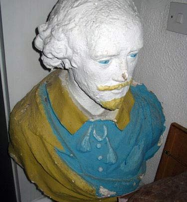 Bust reportedly from Poets Corner in Wintergardens | (c) David Bullock