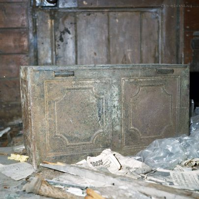 St Katherines Church: Metal Cabinet?
