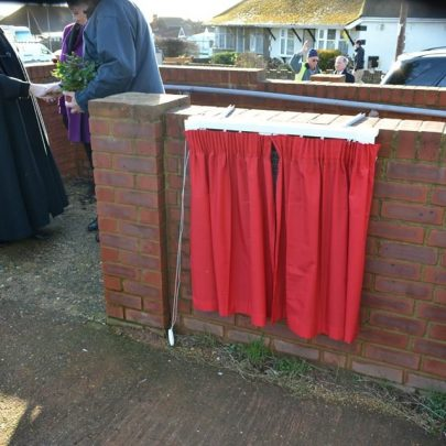 All ready for the unveiling | Beyond the Point