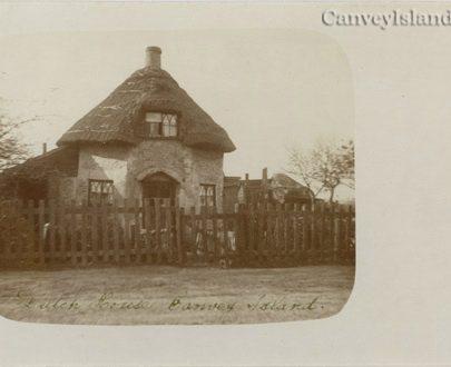 Rare card of the 'Dutch House' Canvey Island | David Bullock