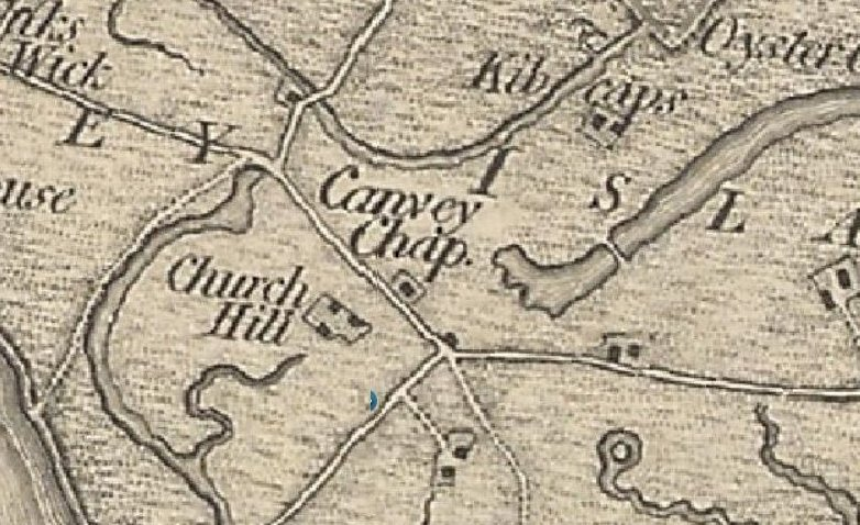 Named Church Hill dated 1805