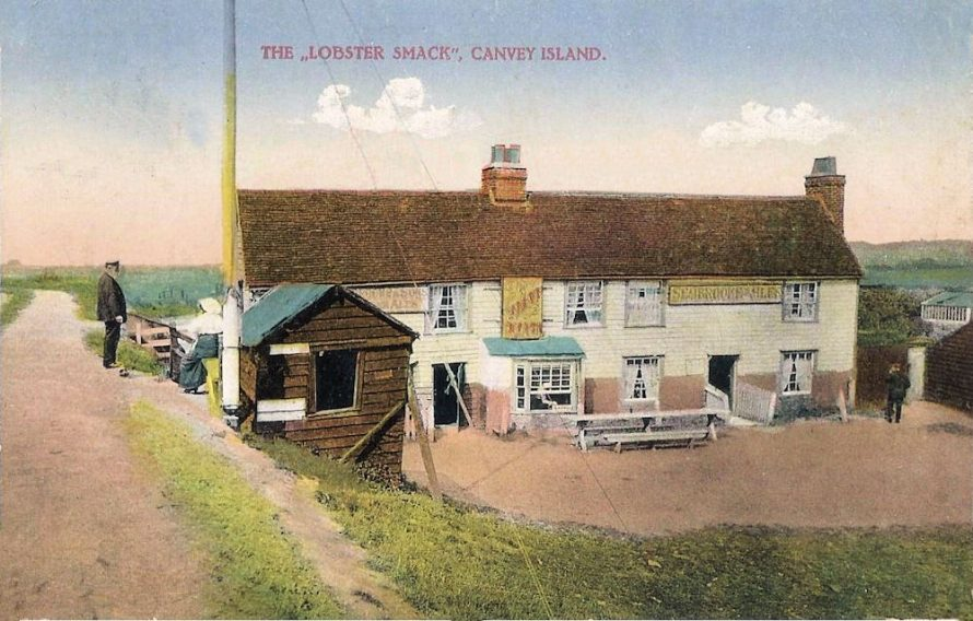 James Woods of the Village Post Office published this postcard c1911