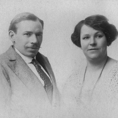 1920's: Abel and Hannah Thomas of Tilberg Rd, Canvey Island | Shirley Thomas