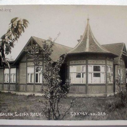 Hester's Swedish Bungalow in 1922 (See Rear of Card) | David Bullock