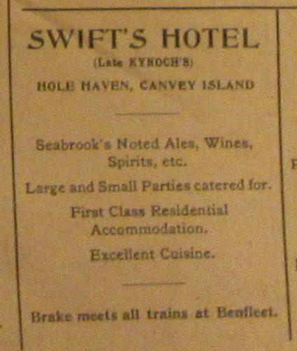Swift's Hotel??