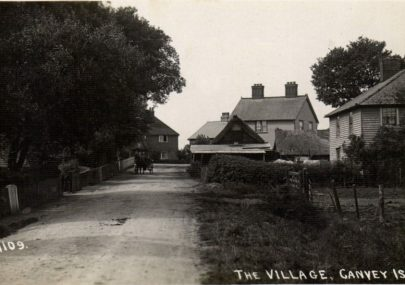Canvey Village Postcard dated 1923