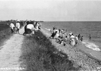 Charming Beach Scene