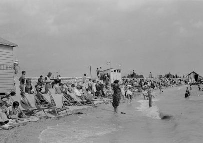 Canvey Beach 1934