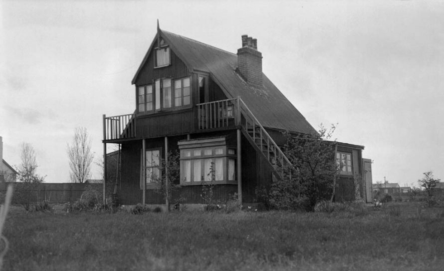 Some Canvey Dwellings 1935 | A G Linney copyright Museum of London