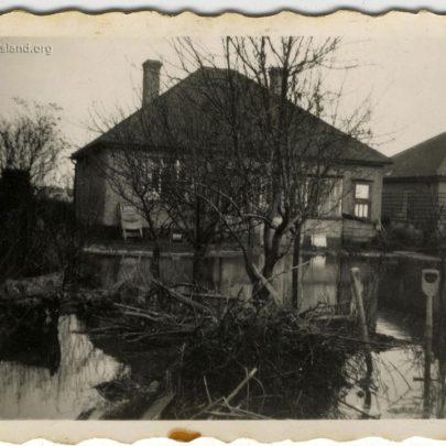 1953 Flood: Feb 8th Bungalow in Ash Road