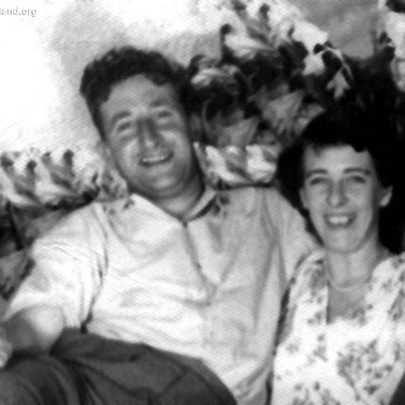 1955: Wally and Muriel Betty Bindon in New Zealand. Murial Bone and her father ran the Post Office in the village for many years | Shirley Thomas