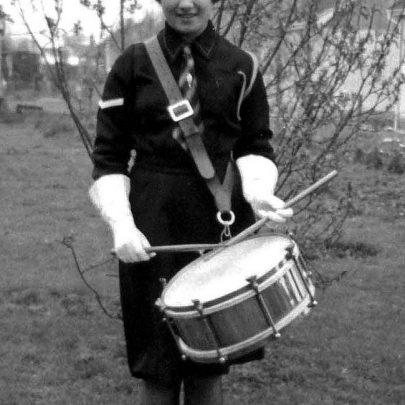 1960: Margaret Thomas in Girl's Life Brigade, Canvey Island   Shirley Thomas