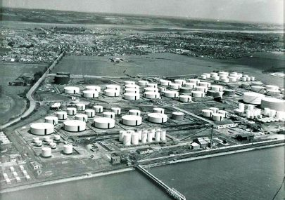 Oil and Gas Storage Aerial