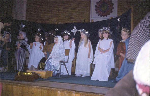 St Nicholas Playgroup Christmas 1977