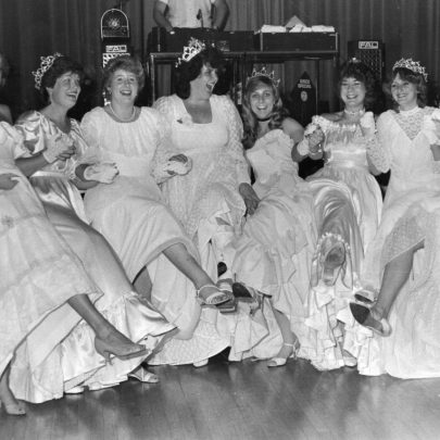 1983 Deputy Queens at the Paddocks | Echo Newspaper Archive