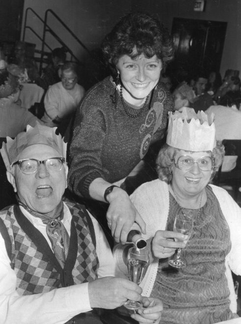 OAPs Phoenix Club Xmas Party | Echo Newspaper Archive