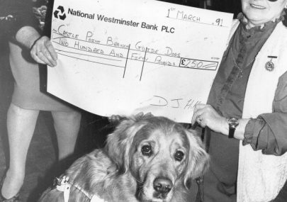 Donation to the Guide Dogs for the Blind