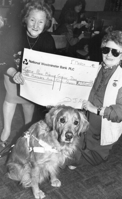 Donation to the Guide Dogs for the Blind | Echo Newspaper Archive