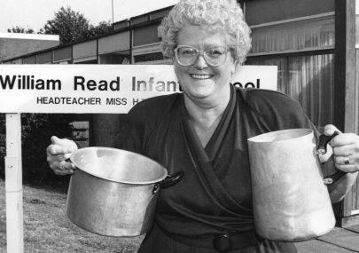 Hazel Dand Retires 1991