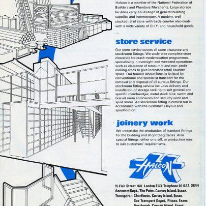 Canvey Island Companies 1980's