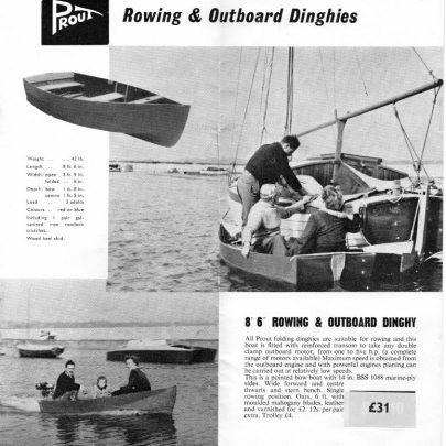 1 Prout's folding boats leaflet ii | Marian Patten